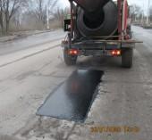 О выполнении ямочного ремонта на территории города Волгодонска