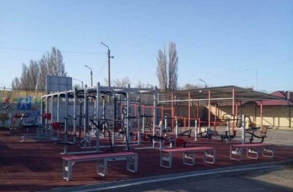 В рамках нацпроекта «Демография»: на стадионе «Труд» установлен комплект спортивного оборудования для подготовки к сдаче испытаний ГТО