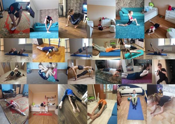 Спортсмены спортивной школы олимпийского резерва № 2 продолжают спортивную подготовку в условиях самоизоляции