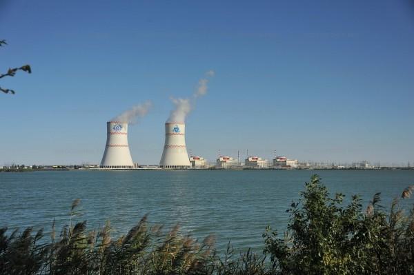 Ростовская АЭС: специалисты атомной станции «продувают» пруд-охладитель