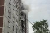 В Волгодонске при пожаре в многоэтажке пострадала 37-летняя женщина
