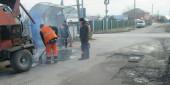 Почти на 100 дорогах Волгодонска выполнен ямочный ремонт