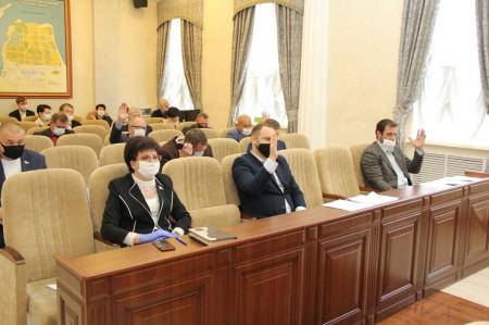 Депутаты приняли дополнительные меры поддержки для предпринимателей