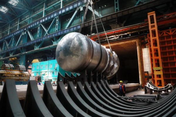 На Атоммаше завершена сварка замыкающего шва на корпусе реактора для АЭС «Руппур»