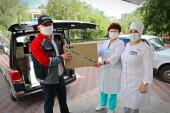 Атоммаш помог Волгодонску средствами защиты от пандемии
