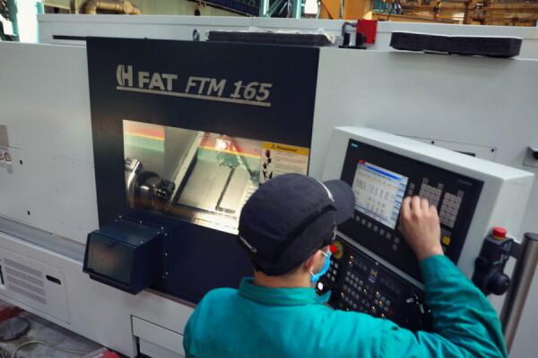 На Атоммаше введен в эксплуатацию новый токарно-револьверный обрабатывающий центр