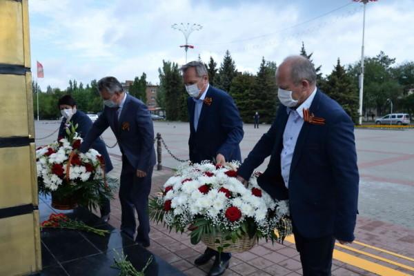 Ростовская АЭС: памятные мероприятия в канун годовщины Великой Победы