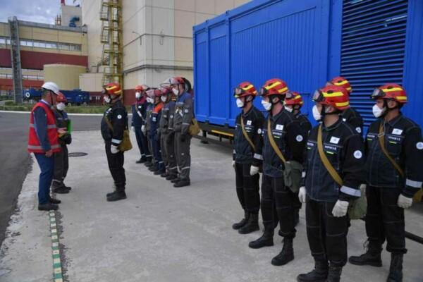 На Ростовской АЭС успешно выполнены задачи противоаварийной тренировки