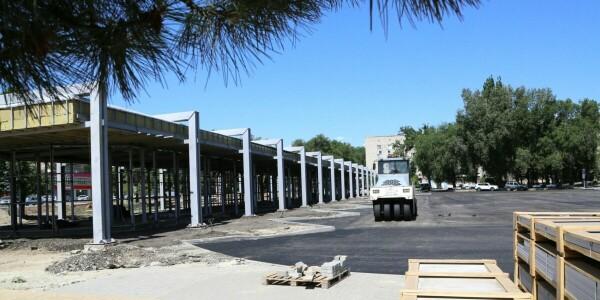 К 70-летию Волгодонска: реконструкция привокзальной площади будет завершена в сентябре