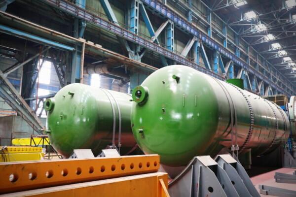 Атоммаш изготовил комплект из 4-х парогенераторов для первого энергоблока сооружаемой в Турции АЭС «Аккую»