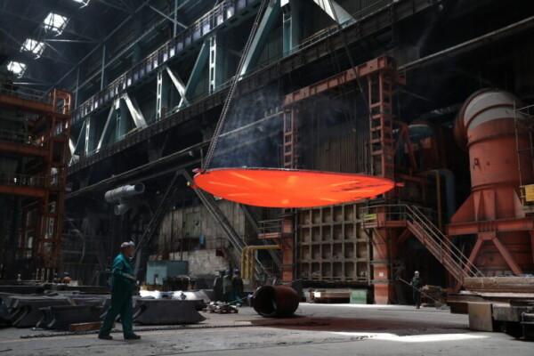Атоммаш изготовил днища для сепаратора перегревателя первого блока Курской АЭС-2