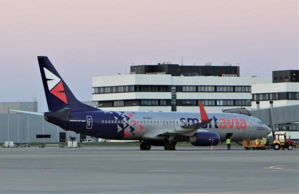 Авиакомпания Smartavia возобновила регулярные рейсы из Платова в Москву