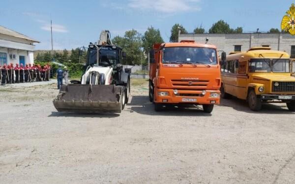 Специалисты проверили готовность Цимлянской ГЭС к возможным ЧС
