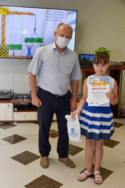 Ростовская АЭС: детские рисунки будут напоминать о безопасности на производстве