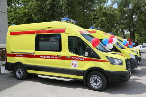 Реанимация на колесах: БСМП, детская больница и горбольница №1 получили новые реанимобили