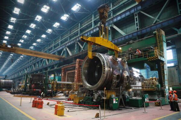 На Атоммаше изготовили верхний полукорпус реактора для второго блока АЭС Руппур