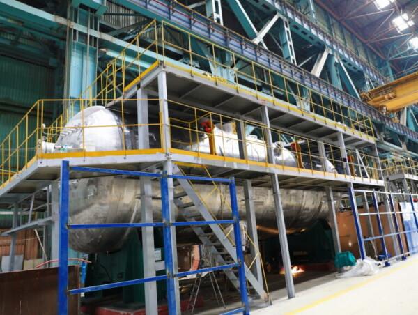 На Атоммаше успешно прошли гидравлические испытания первого парогенератора для АЭС Руппур