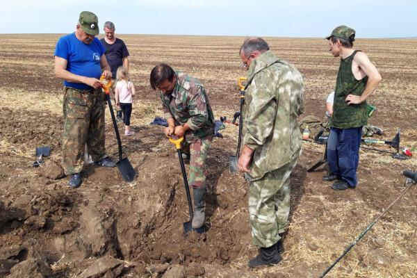 Казачьи поисковые отряды обнаружили останки 15 бойцов Великой Отечественной войны