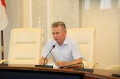 Виктор Мельников встретился с представителями строительной отрасли и наградил лучших работников