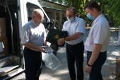Ростовская АЭС передала более 70-ти комплектов защитных костюмов волгодонской городской больнице