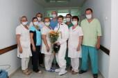 Героев надо знать в лицо: коллеги поздравили медсестру ковидного госпиталя с юбилеем