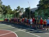 Завершены работы по модернизации спортивной площадки по переулку Западному, 4а