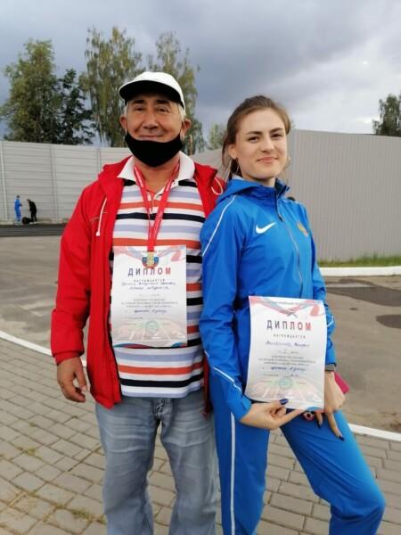 Волгодонские спортсменки успешно выступили на первенстве России по легкой атлетике среди юниоров