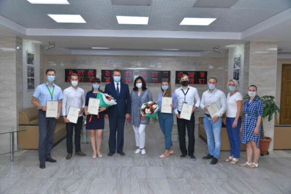 Семь сотрудников Ростовской АЭС отмечены благодарностями «Росатома» за участие в волонтерских инициативах