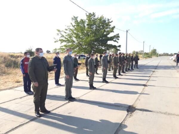 В Волгодонске прошли военно-полевые сборы казаков Волгодонского городского казачьего общества