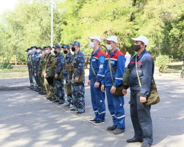 Соревнования постов радиационного и химического наблюдения прошли в Волгодонске