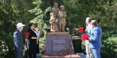 В Волгодонске открыт новый памятник – он посвящен детям войны