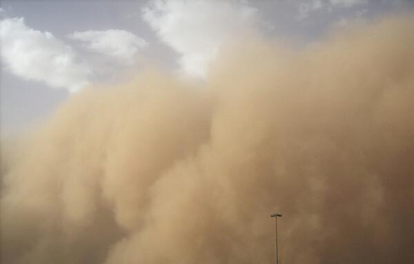 Песчаная буря пришла в Ростовскую область из Калмыкии и Казахстана