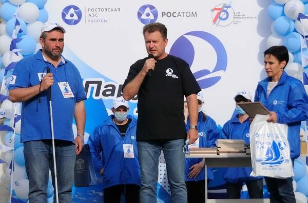 Ростовская АЭС: «Паруса духа» доплыли до Волгодонска