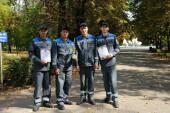 Команда Ростовской АЭС подтвердила статус лучшей среди нештатных формирований ГО и ЧС Волгодонска