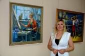 В Центральной библиотеке начала работу персональная выставка Оксаны Зиновьевой «Творческое настроение»