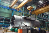На Атоммаше первый парогенератор для Блока №2 АЭС «Аккую» вышел на ключевой этап изготовления