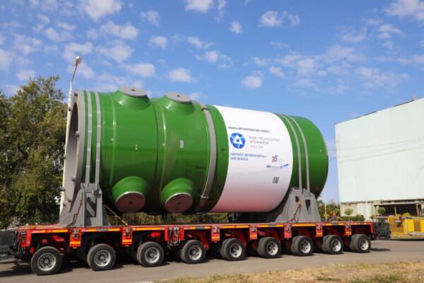 Атоммаш отгрузил корпус реактора для первой строящейся АЭС в Турецкой Республике