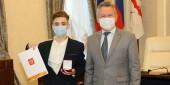 Мы вместе: Виктор Мельников наградил волонтеров за работу в период пандемии коронавируса