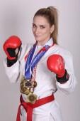 Чемпионке мира по рукопашному бою Анне Новиковой присвоили звание мастера спорта международного класса