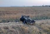 На трассе «Обход Волгодонска» перевернулась легковушка, пострадали два человека