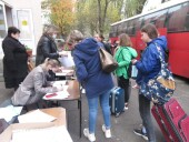 Ребята из Волгодонска отправились отдыхать в оздоровительный лагерь Неклиновского района