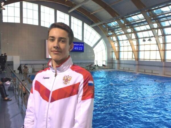 Волгодонец Максим Горьковской получил звание мастера спорта России по плаванию