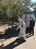 В Волгодонске приступили к дезинфекции общественных пространств