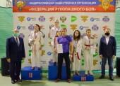 Рукопашники из Волгодонска завоевали пять наград на Первенстве России