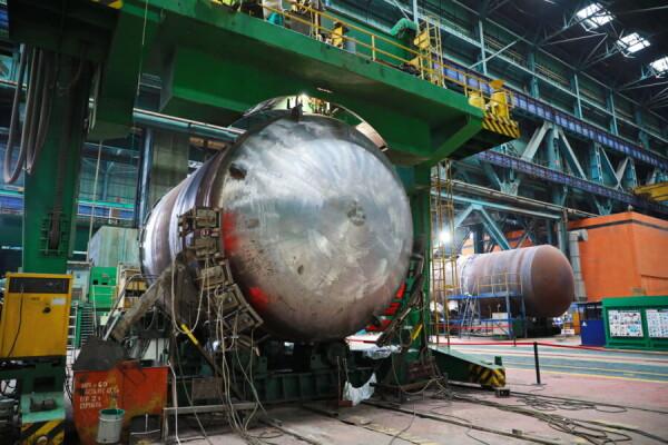 Атоммаш приступил к ключевому этапу изготовления корпуса реактора для второго блока АЭС «Руппур»