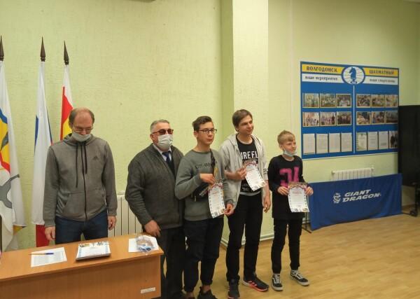 Чемпионат Волгодонска по быстрым шахматам 2020