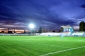 На стадионе «Труд» завершена наладка освещения футбольного поля
