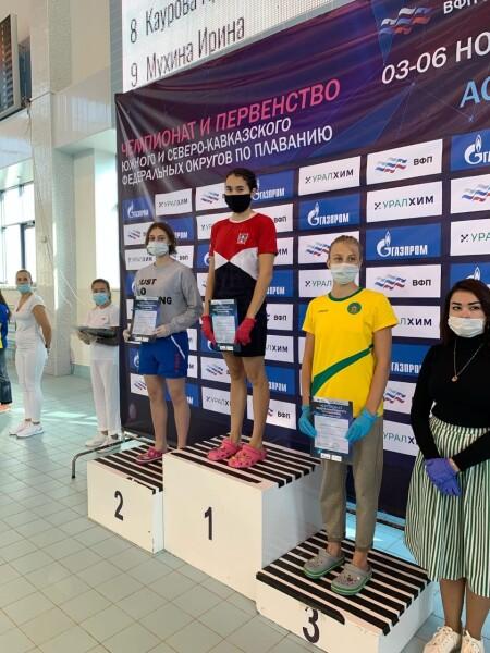 Итоги чемпионата и первенства ЮФО по плаванию