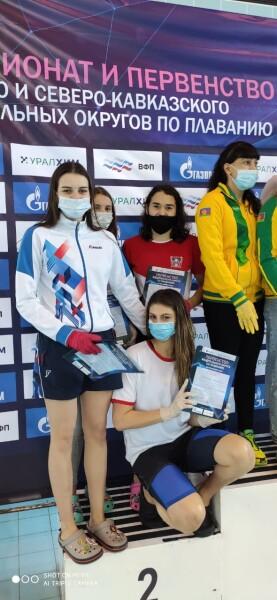 Стешенко Анна, Кучеренко Вероника - 2 место в эстафете