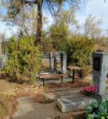 Активисты ветеранских организаций провели субботник на Аллее почетных захоронений